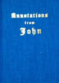 Annotations from John, by Irma Stewart