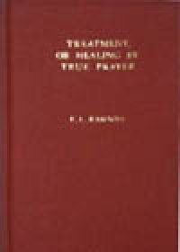 Treatment, or Healing by True Prayer, by F.L. Rawson