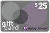 Healing Unlimited Gift Card - $25