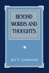 Beyond Words and Thoughts (1965 Letters) by Joel Goldsmith - HC