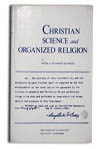 Christian Science and Organized Religion, by Hugh A. Studdert-Kennedy